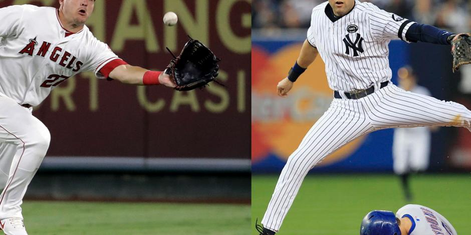 En sólo 9 años, Trout iguala aporte de Jeter en MLB
