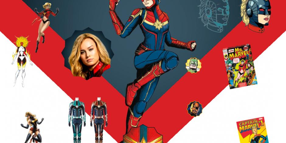 Capitana Marvel gana su primer protagónico en cine