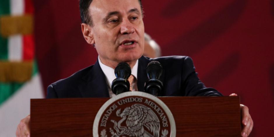 Alfonso Durazo afirma que orden para capturar a hijo de El Chapo sigue