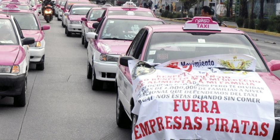 No entendemos protesta de taxistas;  diálogo sigue activo: Sheinbaum