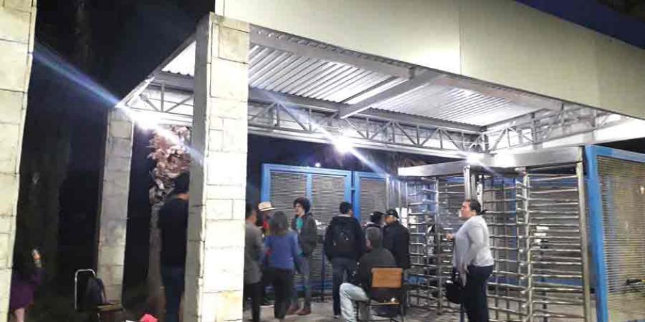 Señalan a huelguistas por asaltos en Universidad de Chapingo