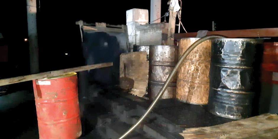 En Nuevo León aseguran 104 mil litros de huachicol