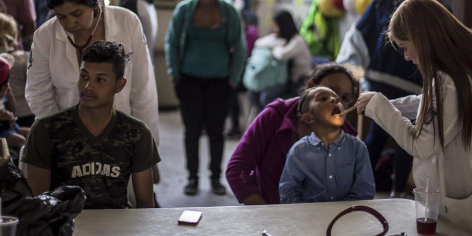 Secretaría de Salud registrará a migrantes que reciban atención médica