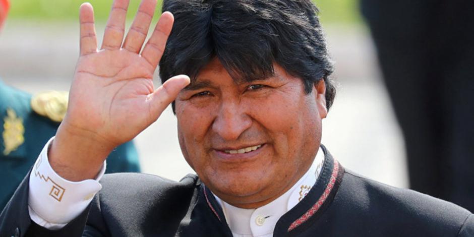 Evo Morales expresa su apoyo a Nicolás Maduro