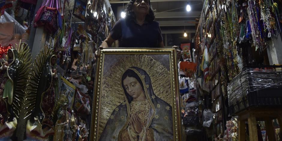 La Virgen de Guadalupe, la más poderosa en tiempos de la 4T