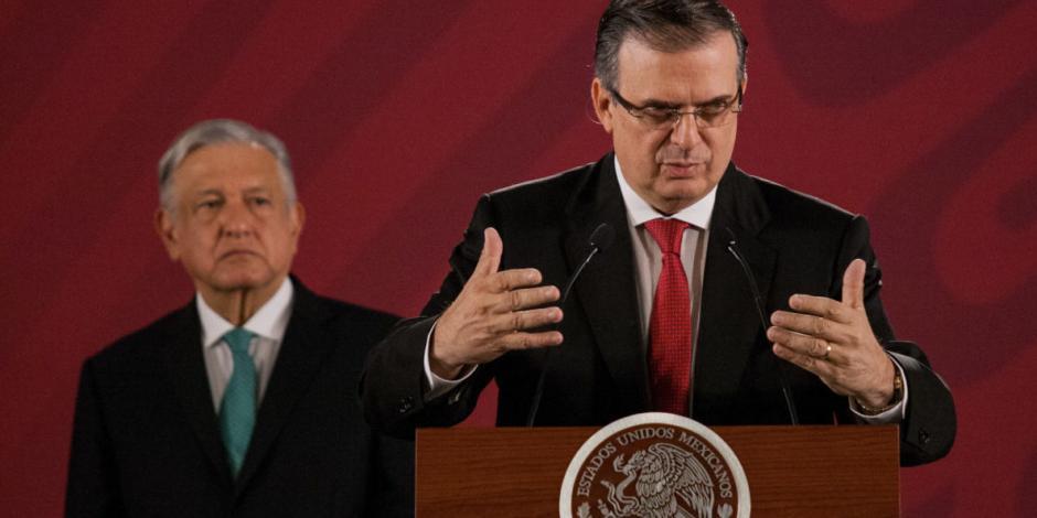 Ebrard rechaza criminalización de migrantes en acuerdos con EU