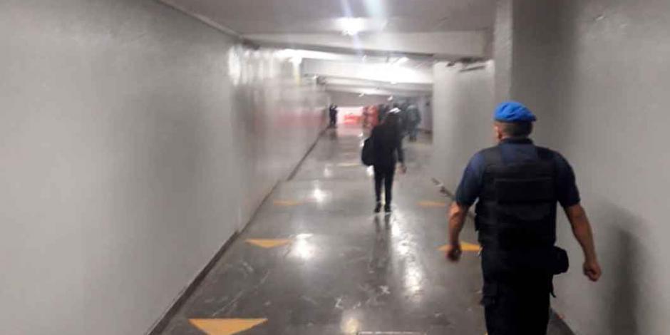 Metro libera túnel y explanada de conexión con Mexibús en Pantitlán