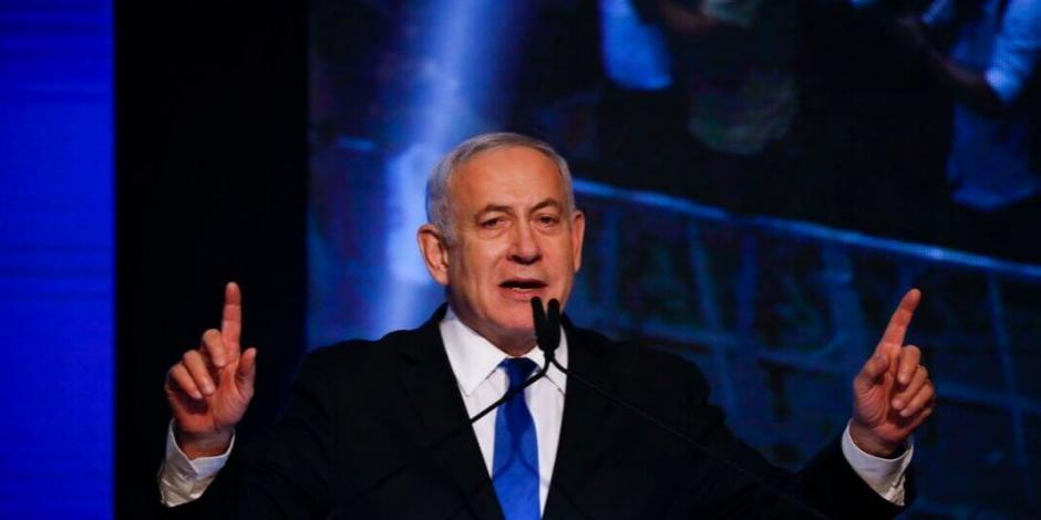 Netanyahu busca gobierno de coalición en Israel con Gantz