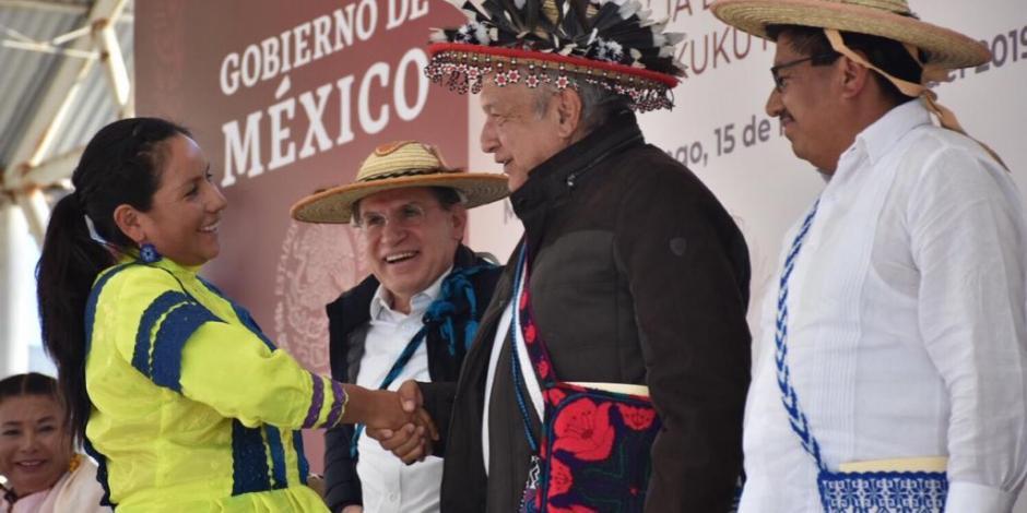 En Durango, AMLO reafirma su convicción de 'primeros los pobres'