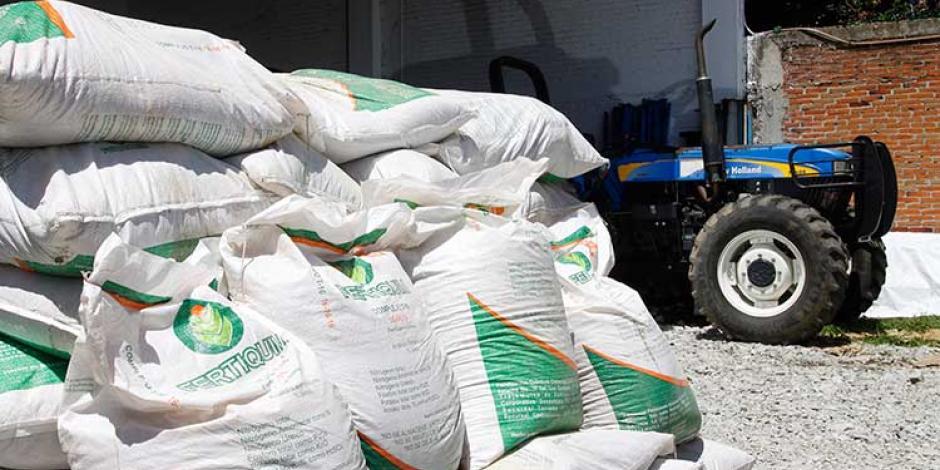 Sader destaca que ya entregó más de 27 mil toneladas de fertilizante en Guerrero