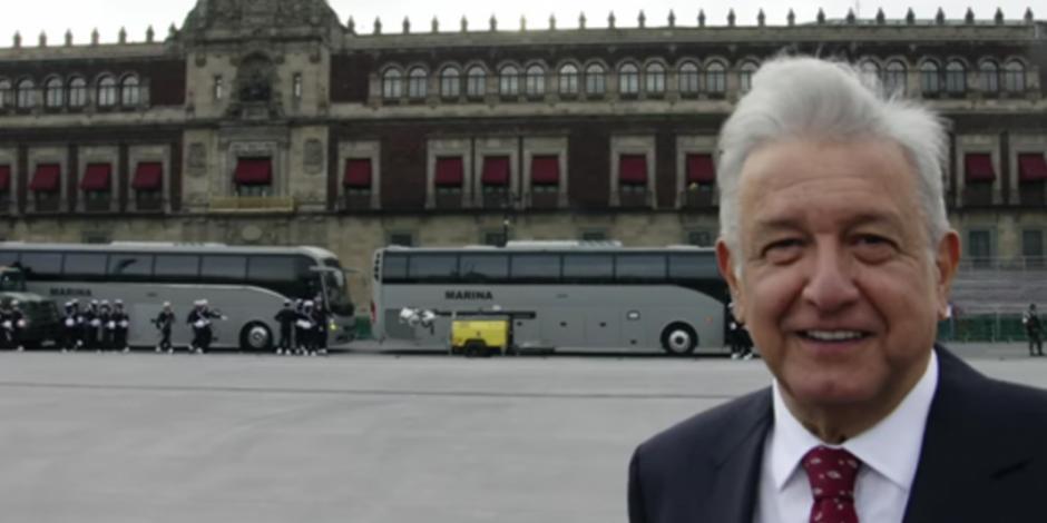 Asegura López Obrador que se mudará a Palacio Nacional