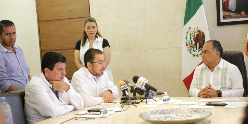 Queda resuelto conflicto de Pueblo Hidalgo en Guerrero: Héctor Astudillo