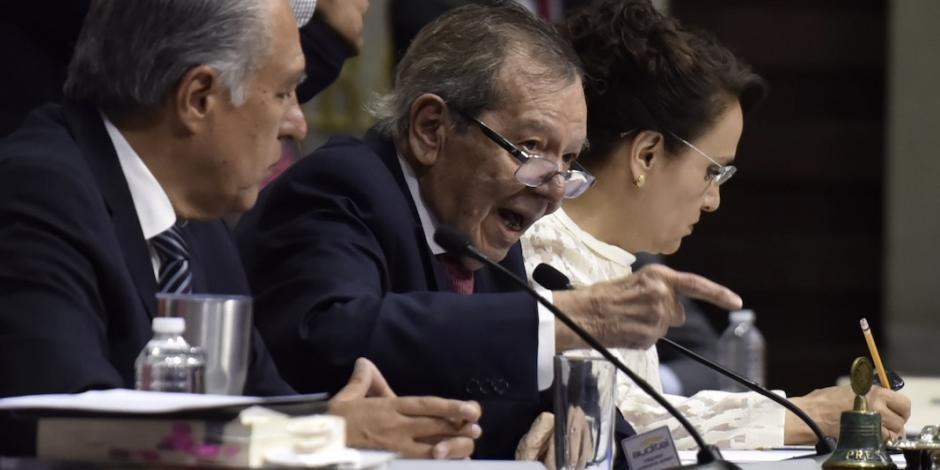 GN no es para controlar migrantes sino para crimen organizado: Muñoz Ledo