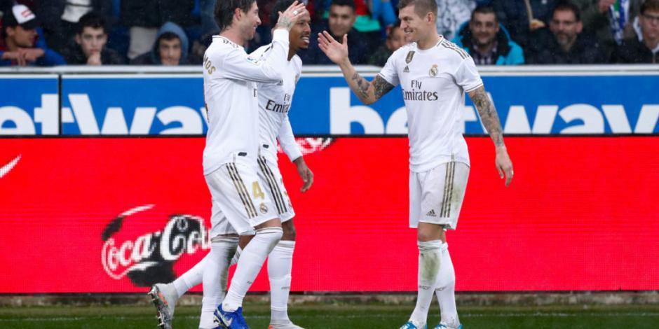 Real Madrid se coloca líder en España luego de vencer al Alavés