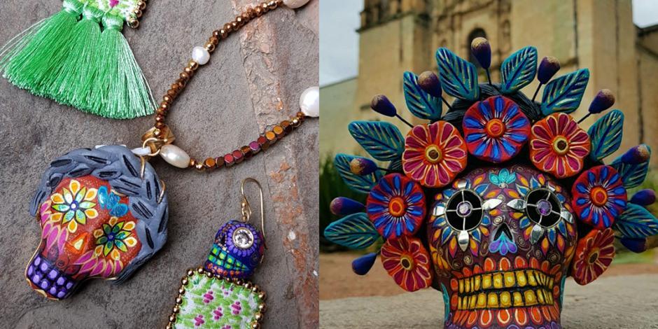 Catrinas, inspiran a joyería que rescata las tradiciones milenarias