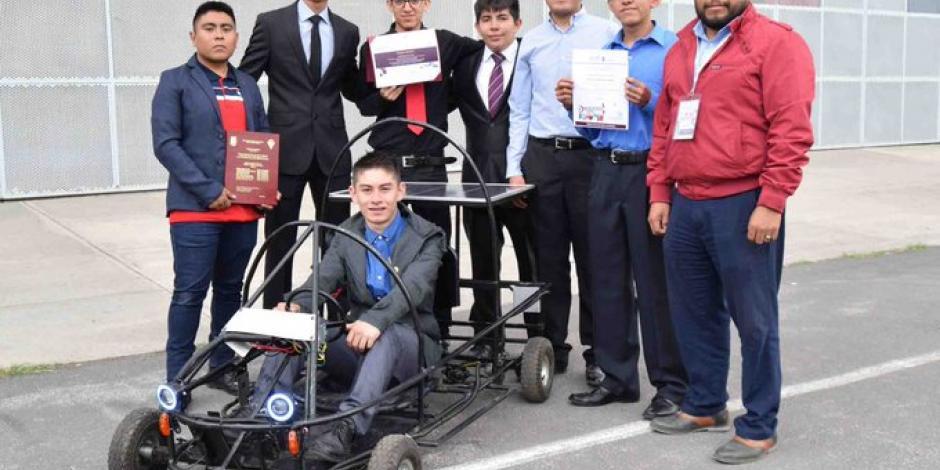 Estudiantes del IPN crean Go Kart amigable con el medio ambiente