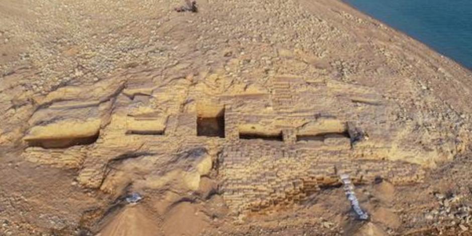 Sequía en Irak revela palacio de 3,400 años de antigüedad