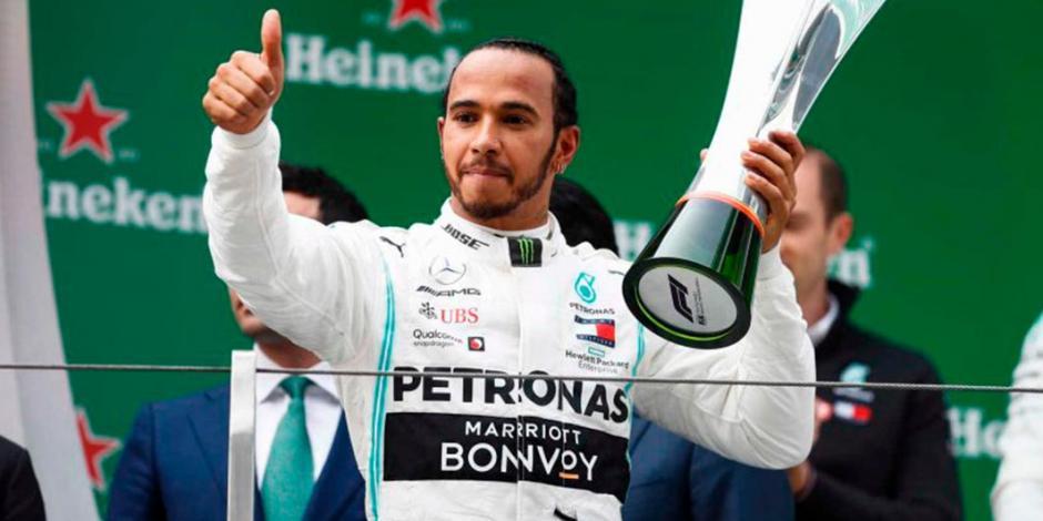 Hamilton hace historia y se lleva el GP 1000 de la Fórmula 1