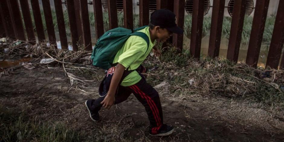 Atiende INM a 11 mil menores de edad migrantes que viajan solos