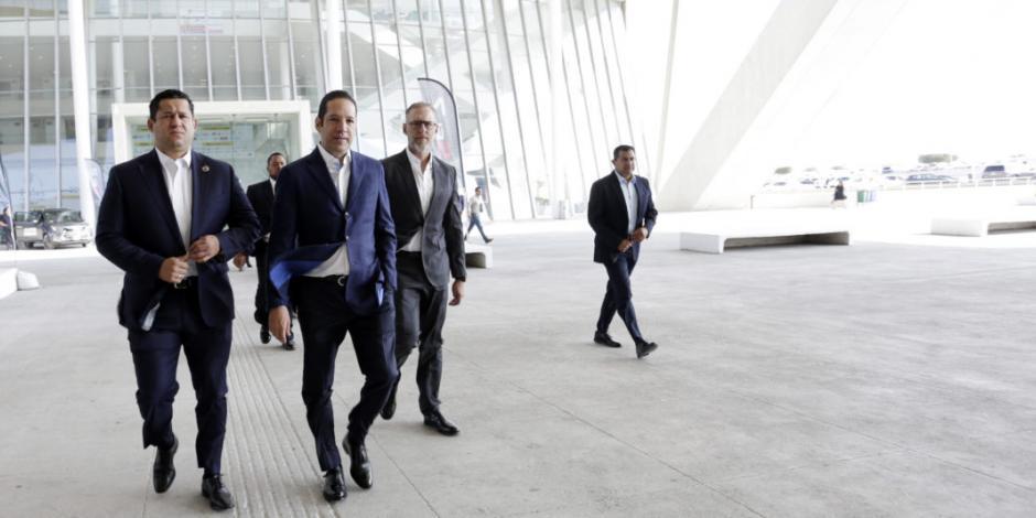 Gobernador transmite confianza en rumbo de Querétaro en Forbes Industrial Summit 2019