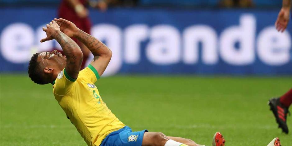 Le anulan gol a Brasil y empata con Venezuela en Copa América