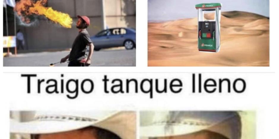 Aquí los mejores MEMES del desabasto de gasolina en México