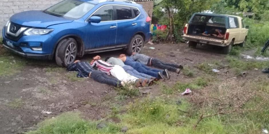 Elementos de la Guardia Nacional abaten a 5 delincuentes en Guanajuato