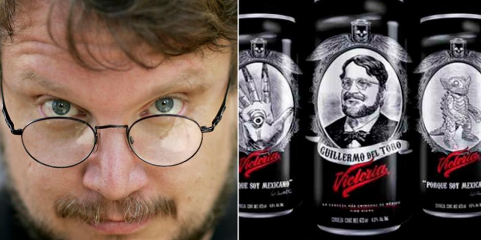 ¿Cuánto ganará cerveza Victoria por utilizar la imagen de Guillermo del Toro?