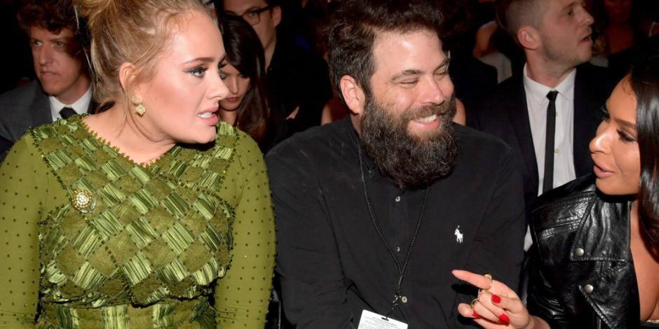 Adele se separa de Simon Konecki tras siete años de relación