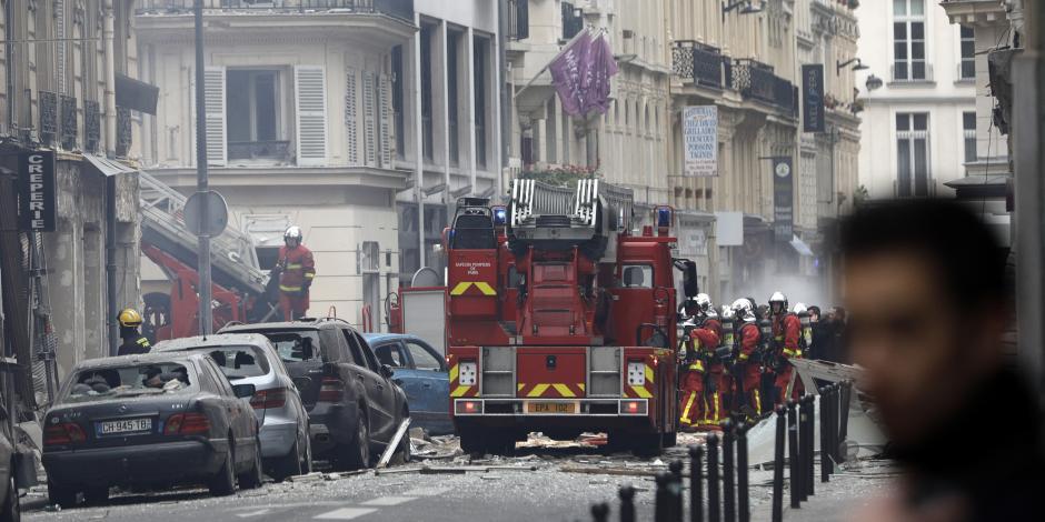 Dos muertos y 47 heridos deja explosión en cafetería de París