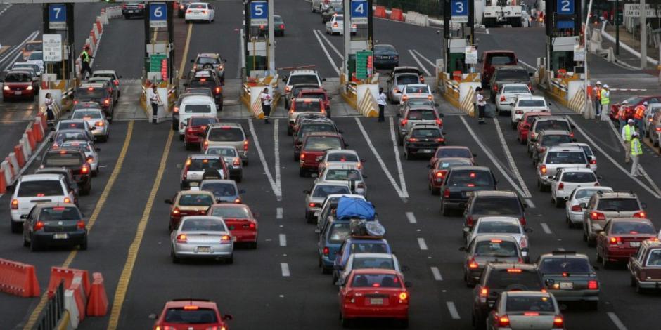 Autopista México-Pachuca registra mayor aforo vehicular