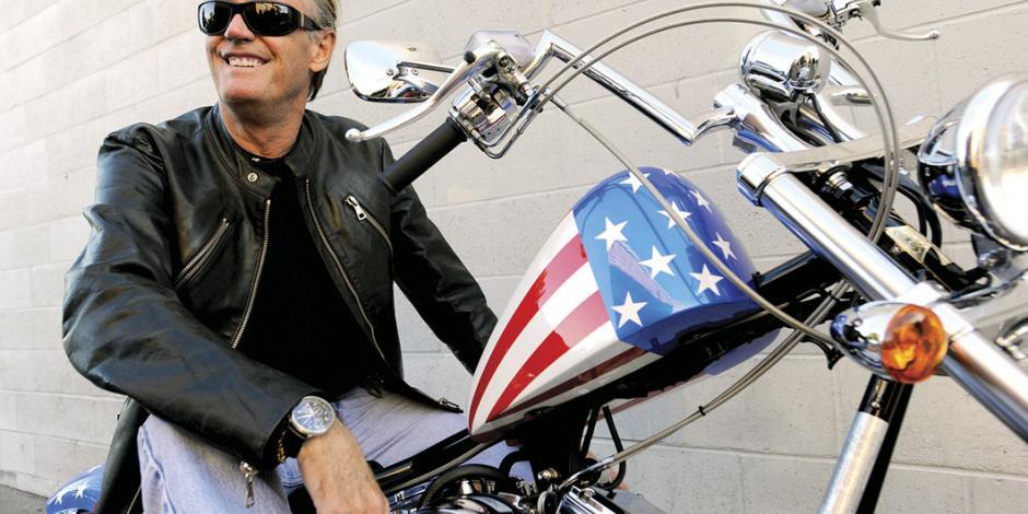 El viaje en motocicleta de Peter Fonda llega a su fin