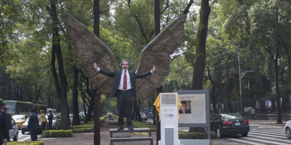 "Reubicarán ""Las Alas de México"" en Paseo Compartido Reforma"