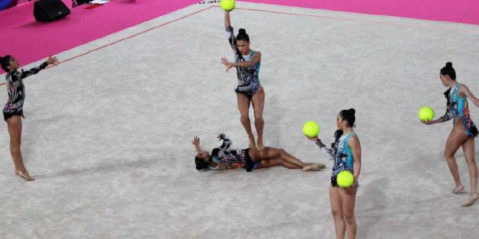 Gimnasia rítmica da el oro 20 a México en Lima 2019