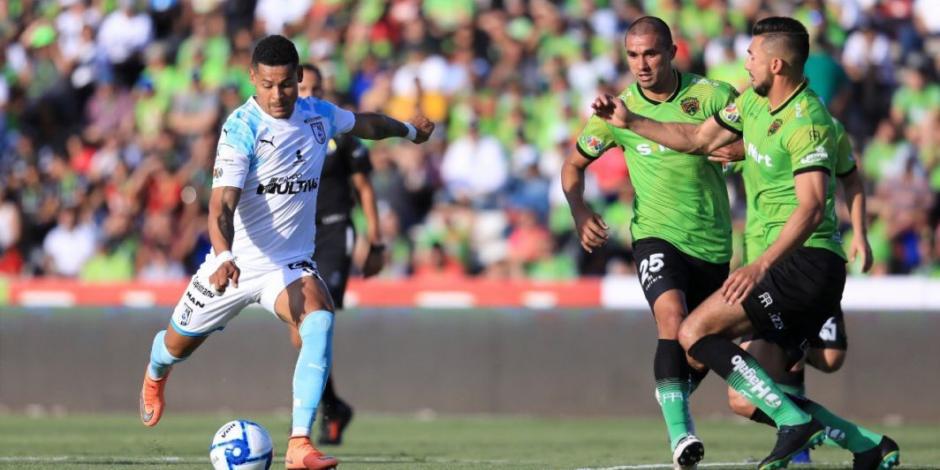 Querétaro, nuevo líder de la Liga MX tras vencer 2-0 a Juárez
