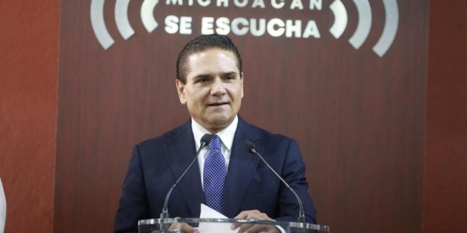 Acusa Aureoles a Segob de dar dinero a criminales en Michoacán