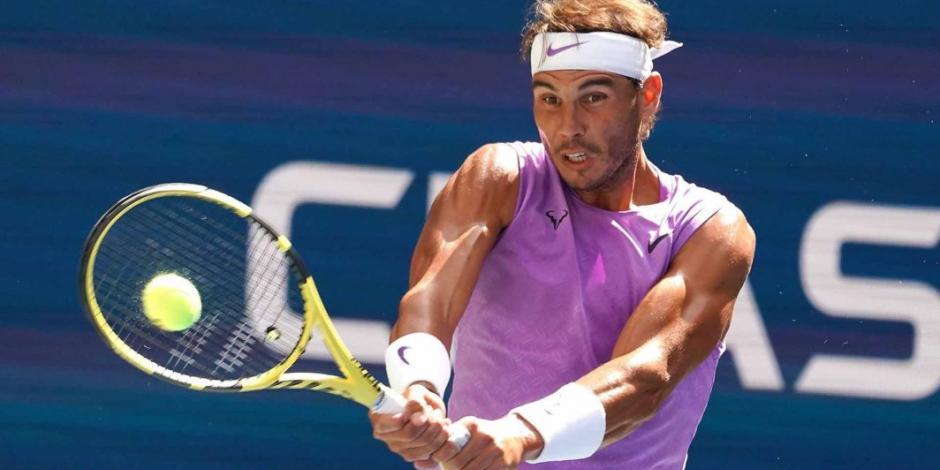 Rafael Nadal clasifica a octavos de final del US Open