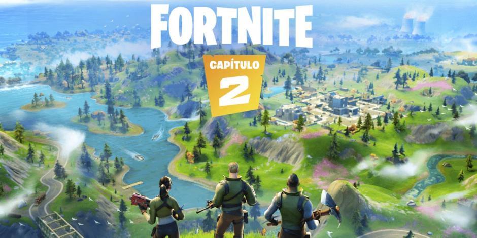 Fortnite estrena su segundo capítulo con nuevo mapa