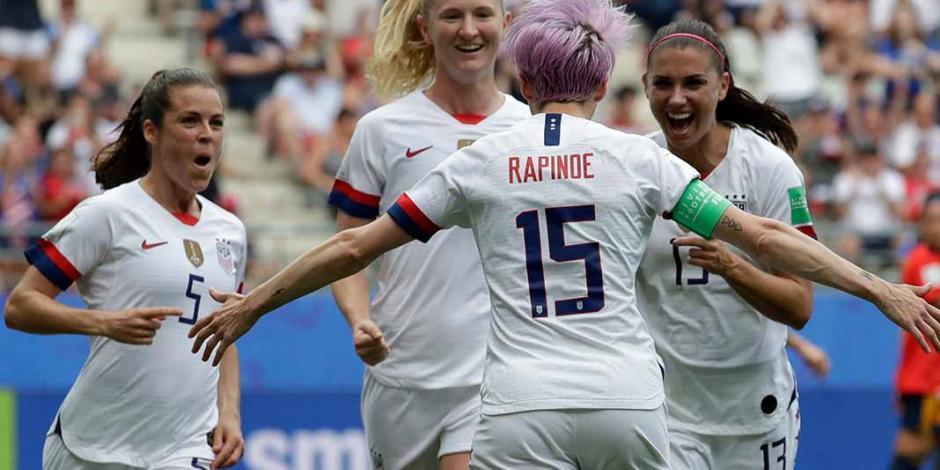 Estados Unidos derrotó 2-1 a España, y avanza a Cuartos de Final