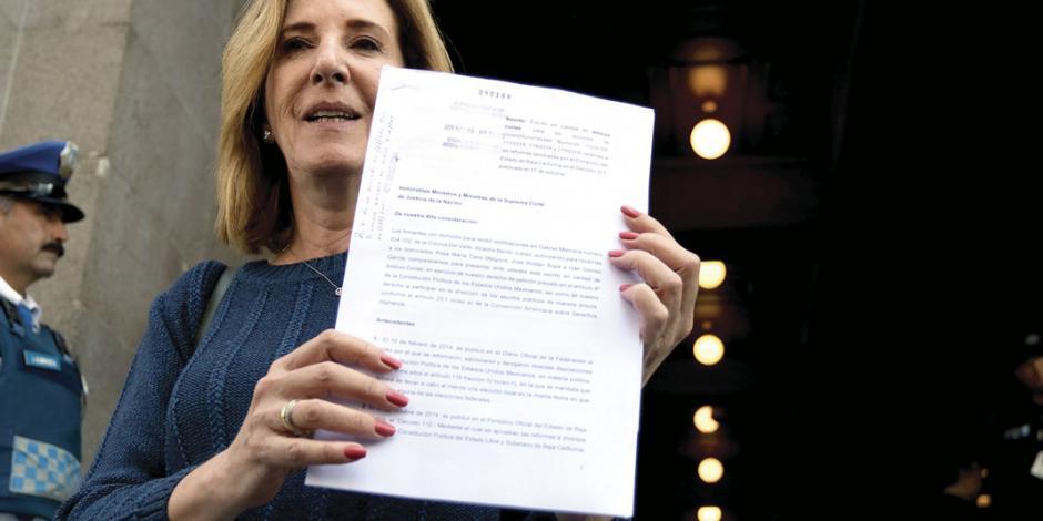 Morera pide anular en BC mandato de 5 años