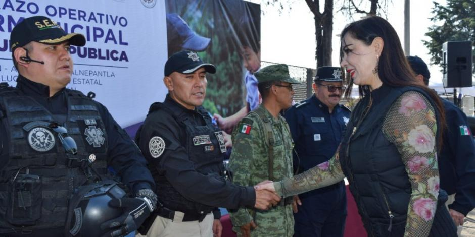 Arranca operativo intermunicipal de seguridad pública en Naucalpan