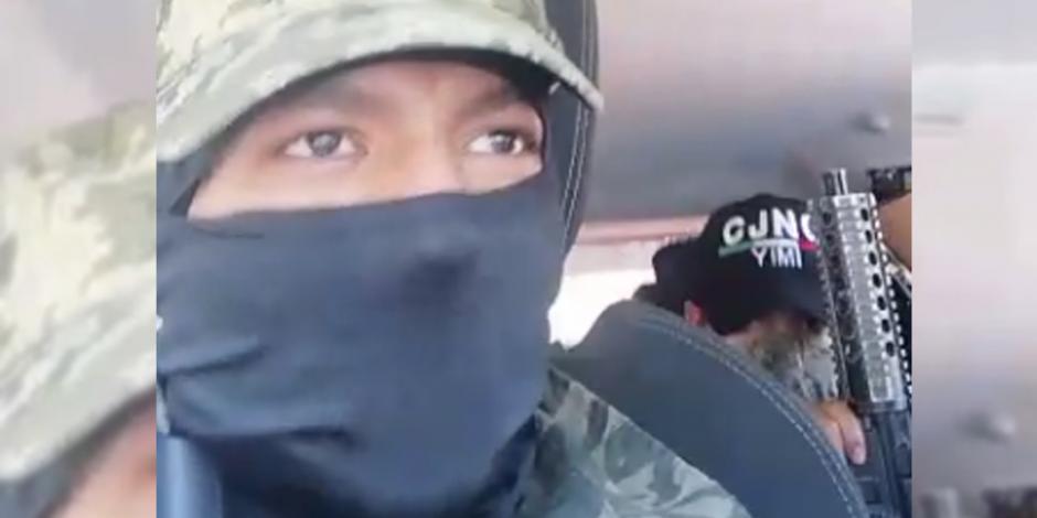 Presunta célula del CJNG amenaza a ladrones de la Gustavo A. Madero