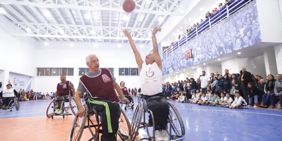 Inaugura Santiago Taboada deportivo