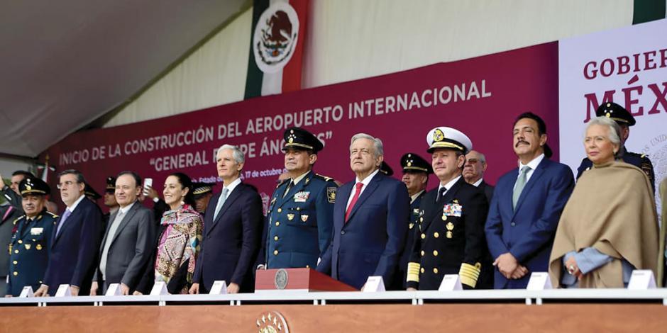 Estiman concluir aeropuerto de Santa Lucía en 29 meses