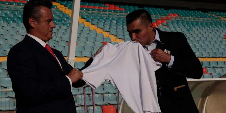 Chiquimarco después de tres días deja de ser entrenador del Salamanca
