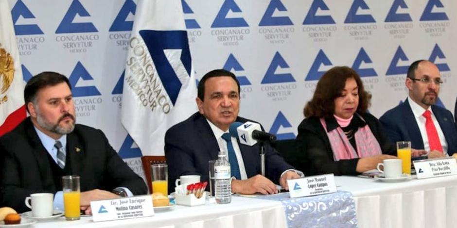 Concanaco afirma que hay condiciones para que la economía crezca en 2020