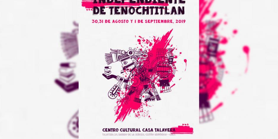 Realizan primer Feria del Libro Independiente de Tenochtitlan