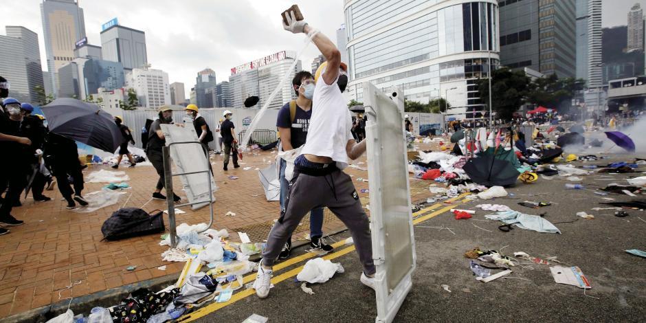 Represión en Hong Kong en lucha por autonomía de China