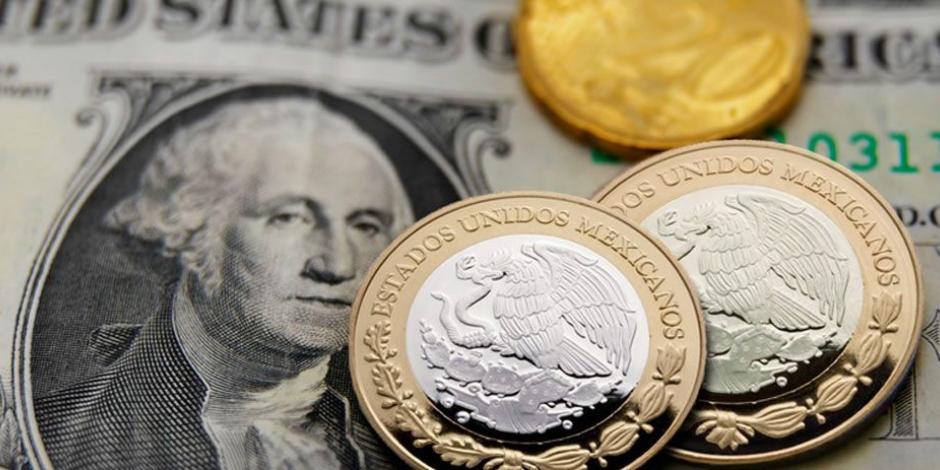 Dólar gana terreno frente al peso, se vende en 19.48 pesos
