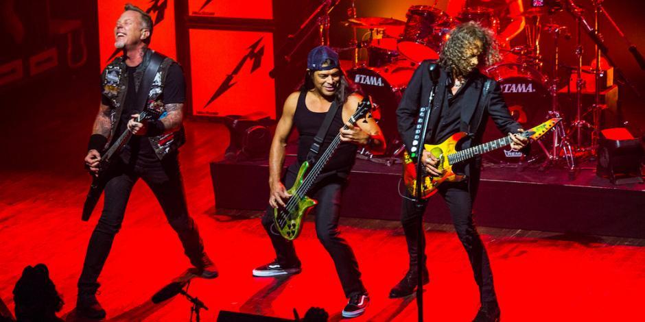 Metallica, declarada la banda más taquillera en la historia